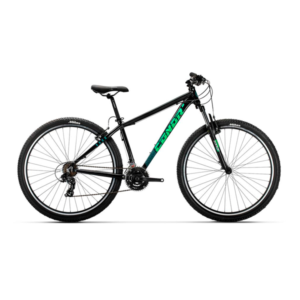 Bicicleta de montaña Conor 5500 29 negro verde
