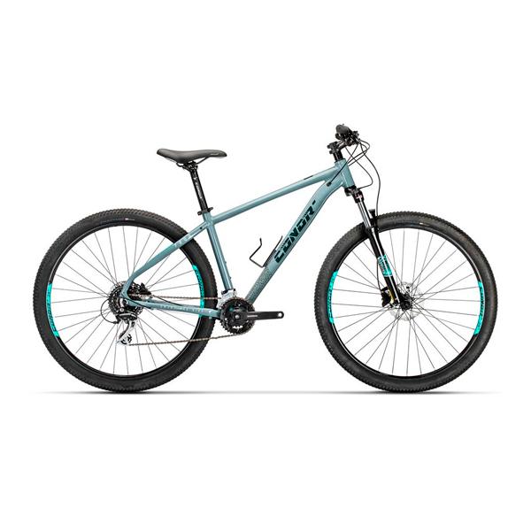 """Bicicleta de montaña Conor 7200 29"""" GRIS T-LA"""