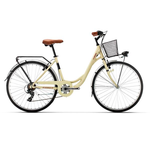 Bicicleta de paseo Conor SOHO Crema WL