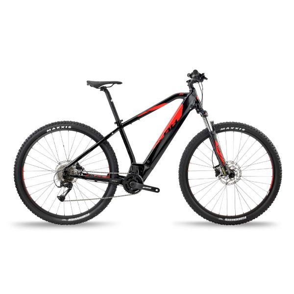 Bicicleta eléctrica BH ATOM 29 NEGRO - ROJO T-SM