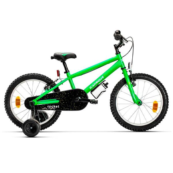 """Bicicleta niño Conor Rocket 18"""" Verde"""