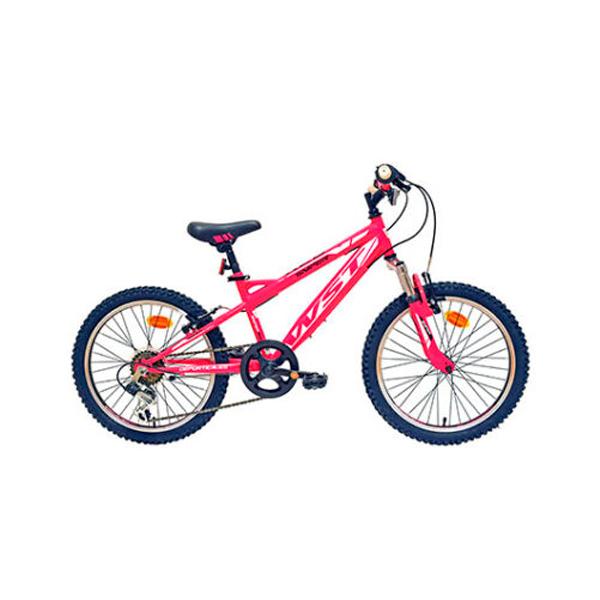 """Bicicleta niño Deportica WST 20"""" 6V. SNIPER"""