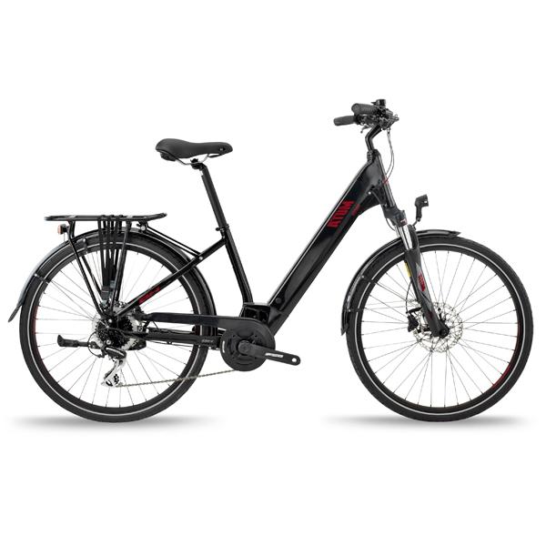 Bicicleta eléctrica BH ATOM STREET T-MD Negro
